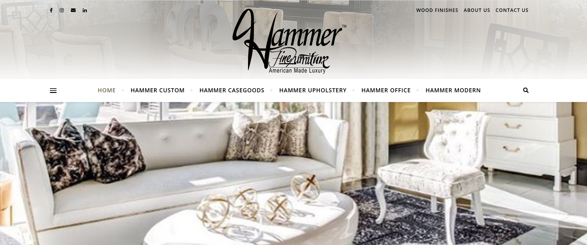 hammerfinefurniture's website